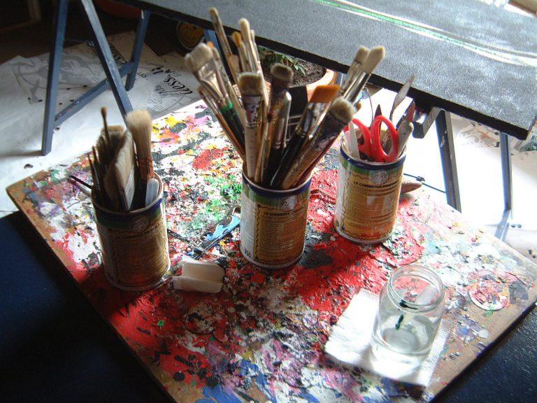 pinceaux peinture