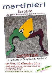 affiche paris 2014 vernissage