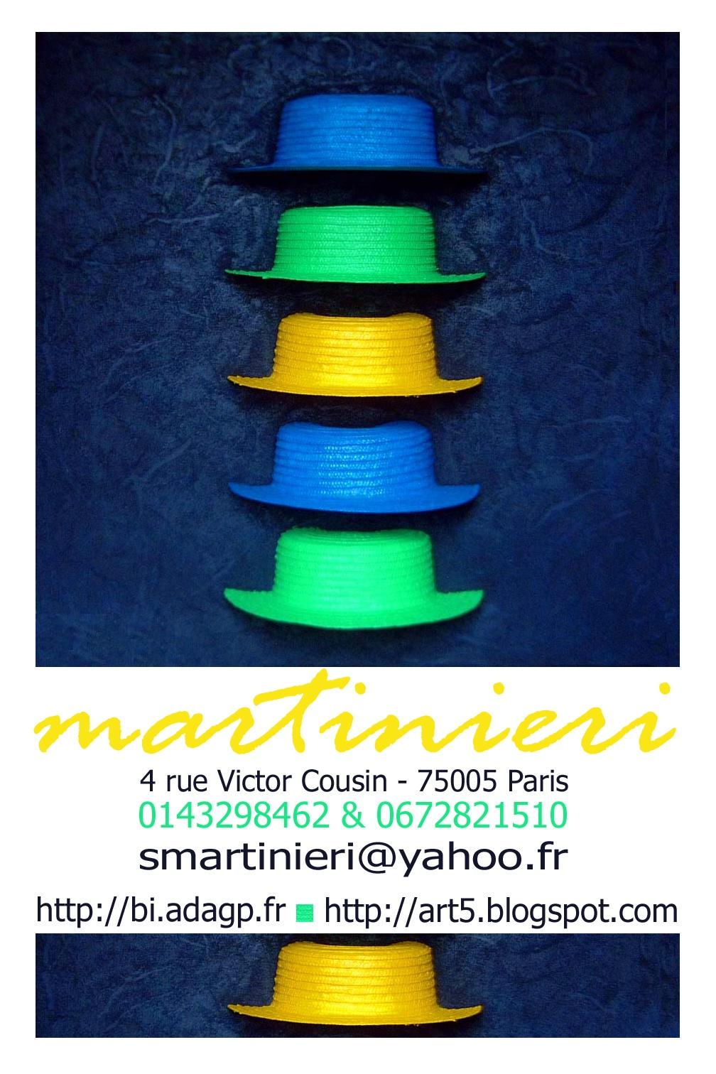 Exposition, Martinieri, coup de chapeau