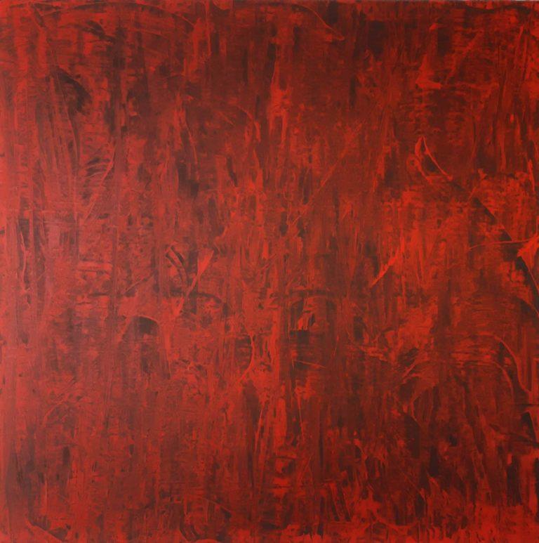 Flamboyant (format 80x80 cm)